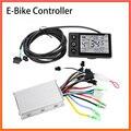 Электрический велосипед контроллер скутера 24 В/36 В/48 в 250 Вт/350 Вт с ЖК-дисплеем скорость для BLDC мотороллер скутер аксессуары для электровело...
