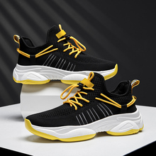 2019 Fashion Casual Men Shoes Mesh Breathable Sneakers Walking Male Footwear Hot Sale Comfortable Lightweight Shoes New 39-44 2018 mens trainers baskets homme new men shoes fashion sneakers walking man casual shoes mesh comfortable male footwear
