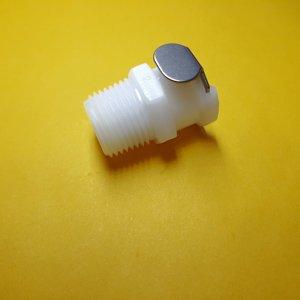 Image 4 - 1 قطعة 1/8 1/4 3/8 CPC أنثى سريعة قطع NPT مترابطة البلاستيك CPC موصل سريع مع صمام