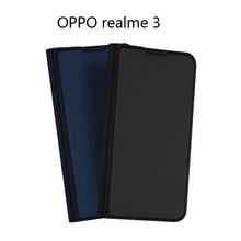 Original Dux Ducis Pu Leather Case For Oppo Realme 3 3i Coque Luxury Thin Flip Cover Wallet Phone Cases For Oppo Realme 6 Pro smart mirror flip case for oppo realme 5 pro luxury clear view pu leather cover realme5 smart view case for oppo realme 5 pro
