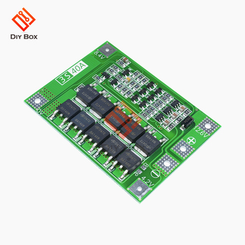 Smart BMS 1S 2S 3S 4S 5S 6S 25/30/40/60A with balancer equalizer 18650 Li-ion Lithium Battery Charger Protection balance Board image