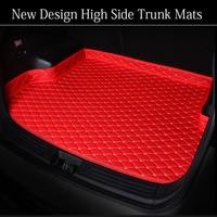 인피니티 ex25 fx35/45/50 g35/37 jx35 q70l qx80/56 6d 모든 날씨 카 스타일링 카펫 플로어 라이너 용 맞춤 트렁크 매트