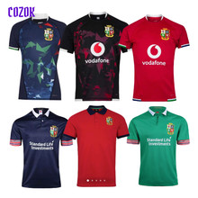 COZOK 17/18 And 20/21 British And Irish Lions Rugby Jersey Size S--5XL