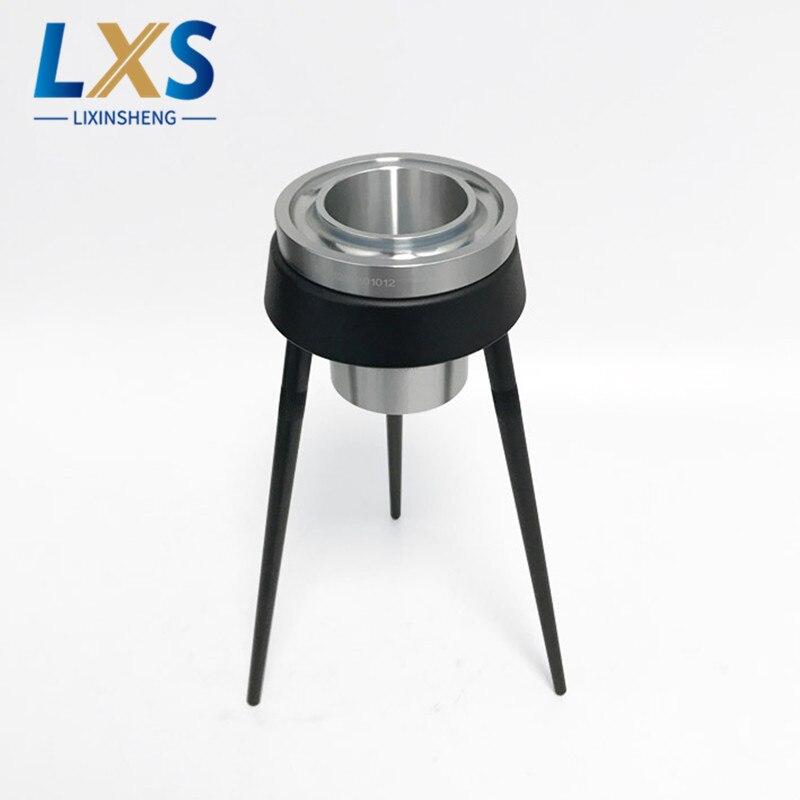Copa de viscosidad Ford 4 # aluminio USA Copa Ford pintura de tinta taza de viscosidad con trípode capacidad de 100ml - 3