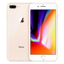 Apple iPhone 8 Plus, 3 Гб оперативной памяти, Оперативная память 64/256 ГБ Встроенная память шестиядерный iOS 12MP Беспроводной зарядки отпечатков пальцев LTE для разблокированного мобильного телефона
