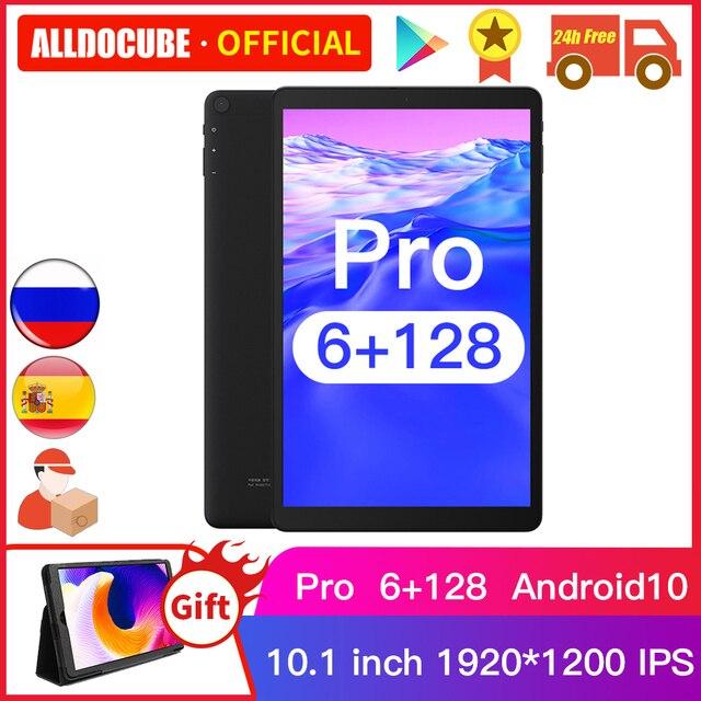 Tablet Alldocube Iplay 20 PRO - Tela de  10.1 polegadas - Sistema Operacional  Android 10 - 6GB de RAM - 128 Armazenamento Interno - Suporte 4G LTE  1