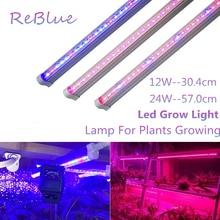 Светодиодный светильник для выращивания фитолампи Фито светодиодный светильник для растений полный спектр светодиодный светильник для растений Фито лампы для цветения
