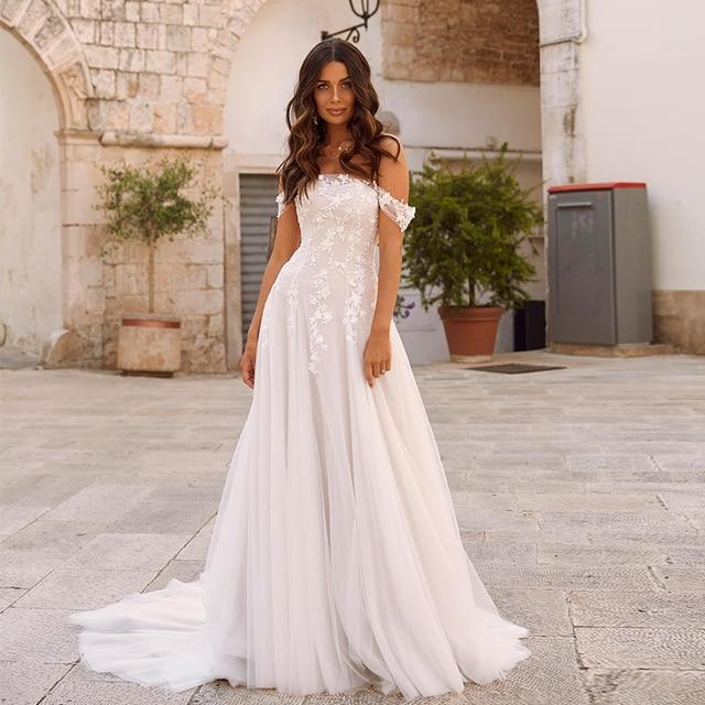 Robe pour Mariage Bohème Romantique Nina