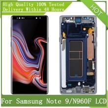 Voor Samsung Galaxy 6.4 Super Amoled Note9 N960 N960D N960F Lcd Touch Screen Digitizer Vergadering Met Frame Vervanging