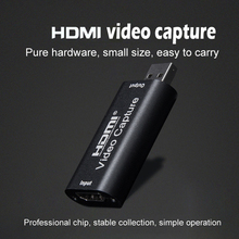 Video Capture Card 1080P USB 2.0 HDMI Video Grabber Record Box for PS4 Game DVD Camcorder