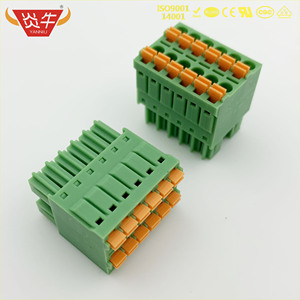 KF2EDGKNH 3,5 2P ~ 12P PCB вставные клеммные блоки 15EDGKNH 3,5 мм 4 pin ~ 24 pin FMCD 1,5/ 3-ST-3,5 - 1738814 PHOENIX DEGSON