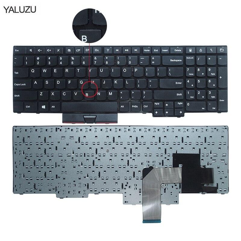 US New Keyboard FOR Lenovo FOR ThinkPad FOR Edge E530 E530C E535 E545 04Y0301 0C01700 V132020AS3 Laptop Keyboard No rocker