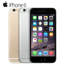 used Phone Apple IPhone 6 Dual Core IOS Mobile Phone 4G LTE Smartphone ROM 64G RAM 1G 8.0 MP Camera Mobile phone