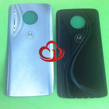 10 adet arka pil kapağı konut arka kapak Motorola Moto G6 artı xt1926