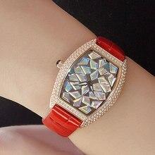 2020 New Gypsophila Quartz Watch Women Leather Bracelet Watch Female Rose Gold Watches Luxury Waterproof Clock Top Brand Table цена 2017