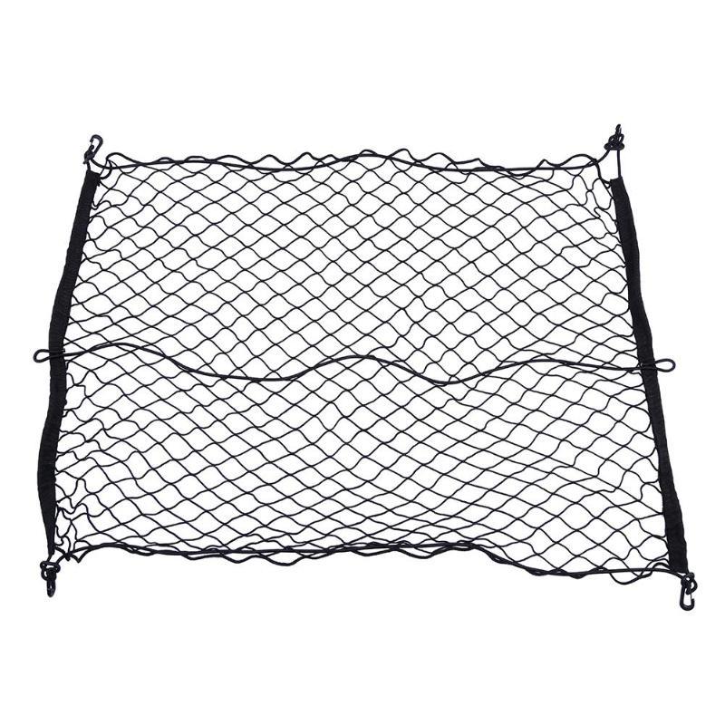 Car Rear Trunk Elastic String Net Mesh Storage Bag Pocket 90x60cm