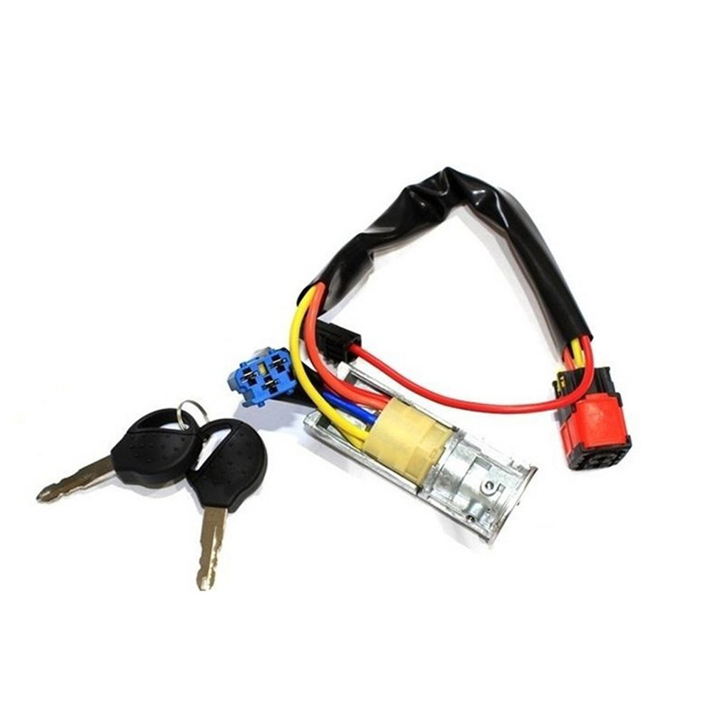 Start Lock Cylinder Keys Suit Firing Lock Core Car Replacement Parts Car Practical Portable Accessories