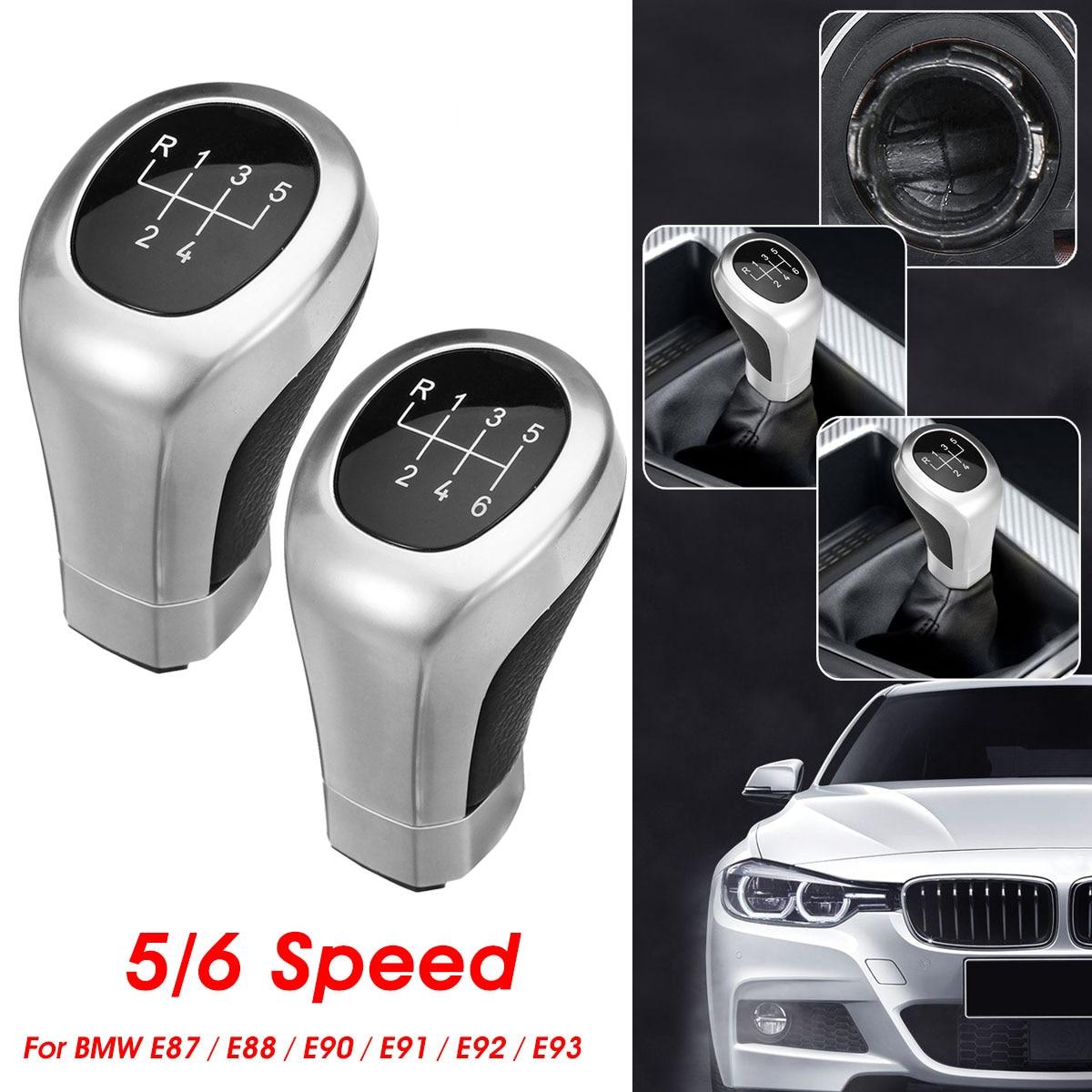 5 Speed 6 Speed Gear Shift Knob Lever Shifter Knob Gearstick For BMW 1 3 series E81 E87 E88 E82 E90 E91 E92 E93 LCI 2006-2011