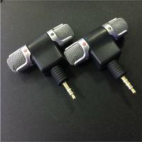 3.5 milímetros Mini Jack Estéreo Gravador De Voz Microfone Mic para Laptop PC Android Telefone Conversa