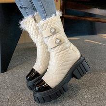 Женские ботильоны из лакированной кожи Подиумные роскошные ботинки