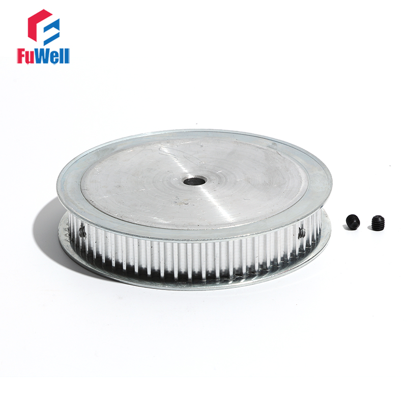 Timing Belt Pulley HTD5M-80T 16mm/21mm Belt Width 80Teeth Transmission Pulley 8/10/12/14/16/20mm Bore Toothed Pulley