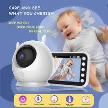 Sailvde 720P kolorowa bezprzewodowa niania elektroniczna Baby Monitor z kamerą nadzoru kryty niania bezpieczeństwa elektroniczny Babyphone płakać niemowląt karmienie