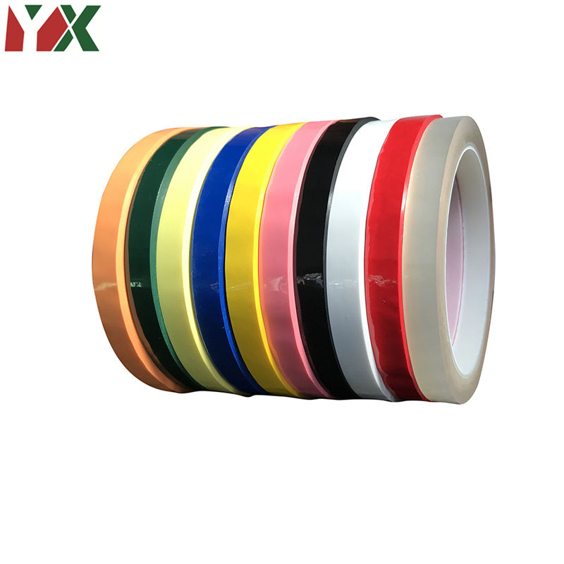 1PC Color Adhesive Insulation Mylar Tape High Temp Withstanding For Transformer Motor Electrical Insulation Wrapping 3mm/5mm/8mm
