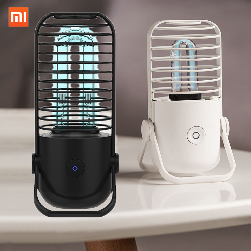 XIAOMI Portable Disinfection Sterilization Lamp Light Sterilizer UV-ozone Germicidal Sterilizer Light Tube Kill Bacterial Virus