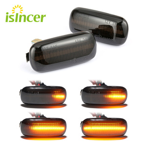 2 pieces Led Dynamic Side Marker Turn Signal Light Sequential Blinker Light For Audi A3 S3 8P A4 S4 RS4 B6 B7 B8 A6 S6 RS6 C5 C7(China)