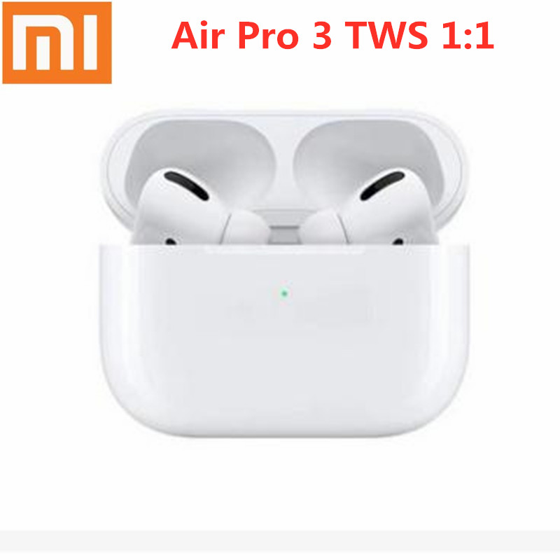 Original Headset Wireless Earphones Air Por 3 TWS Clone Airpodering Sport Wireless Bluetooth Earphone Earbuds Stereo Headset