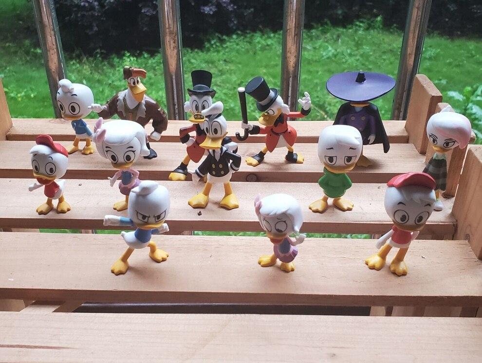 Набор для гаража, Классическая игрушечная мини-кукла «утиные сказки», «Дональд Дак», экшн-фигурка с подвижными суставами, Коллекционная мод...