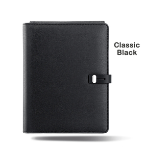Image 4 - Ładowanie wireless wielofunkcyjny A5 Notebook 5000 MAh Power Bank wsparcie IOS Android typu c prezent biznesowy biuro notes