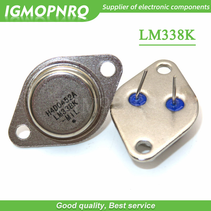 5pcs/lot LM338K LM338 TO-3 5A Gold Seal Transistor Three-terminal Adjustable Voltage Regulator New Original