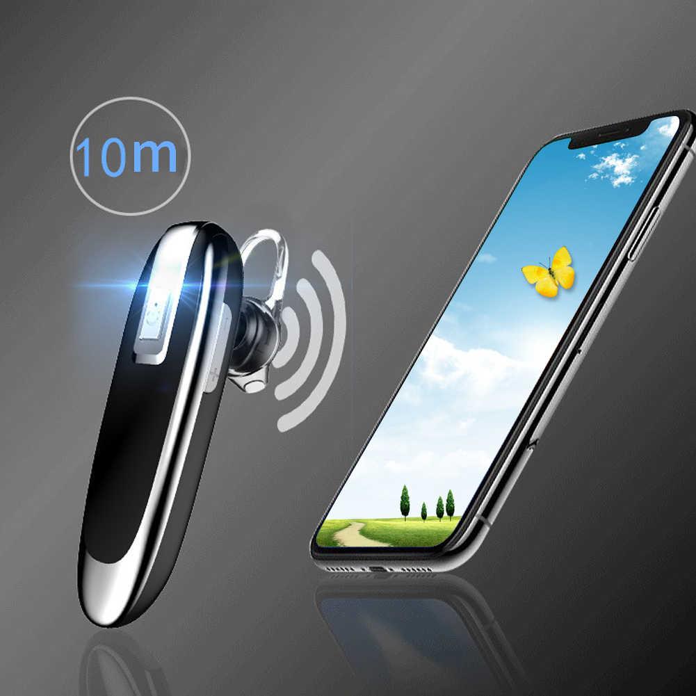 Q1 длинный подарок Bluetooth гарнитура Музыка Мини вкладыши беспроводной стерео Спорт с микрофоном бизнес громкой связи вызова Смарт Портативный