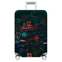 Verdicken Gepäck Schutz Abdeckungen Für 18-32 Inch Koffer Koffer Reise Zubehör Gepäck Tasche Fall Trolley Elastische Koffer Abdeckung