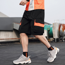 2020 Streetwear Summer Casual Shorts Men Fashion Ribbons Poc