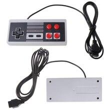 4 botão controlador gamepad para coolbaby tv handheld jogo de vídeo 9 pinos console transporte da gota