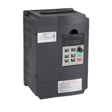 Variable Frequency Drive, Vfd Inverter Frequency Converter 2.2Kw 3Hp 220V 12A for Spindle Motor Speed Control (Vfd-2.2Kw) стоимость