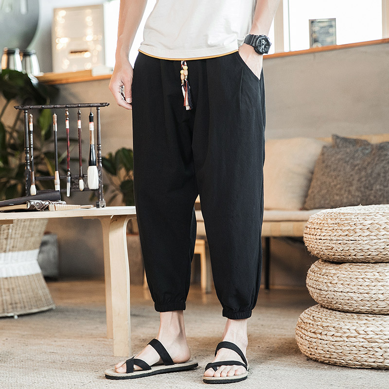 2020 New Skinny Streetwear Joggers Pants Hip Hop Harem Men Fashion Trouers