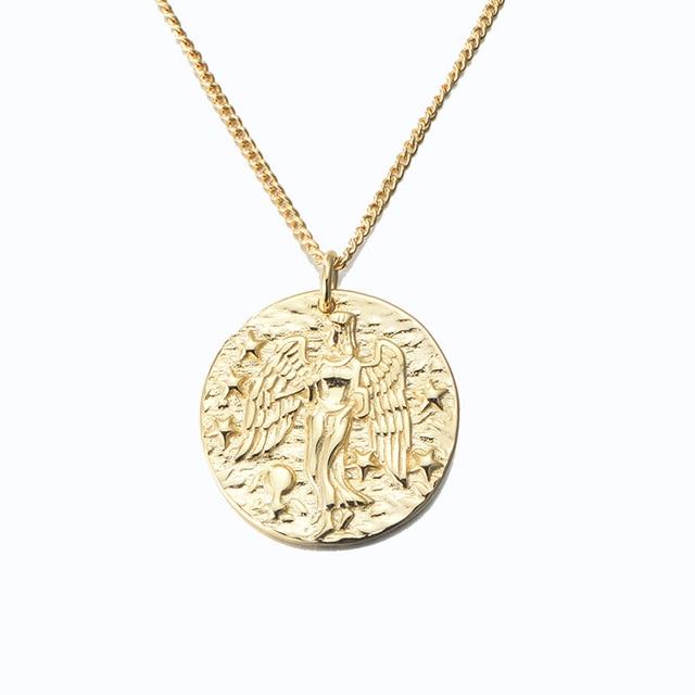 Leouerry ожерелье из стерлингового серебра 925 пробы с кулоном