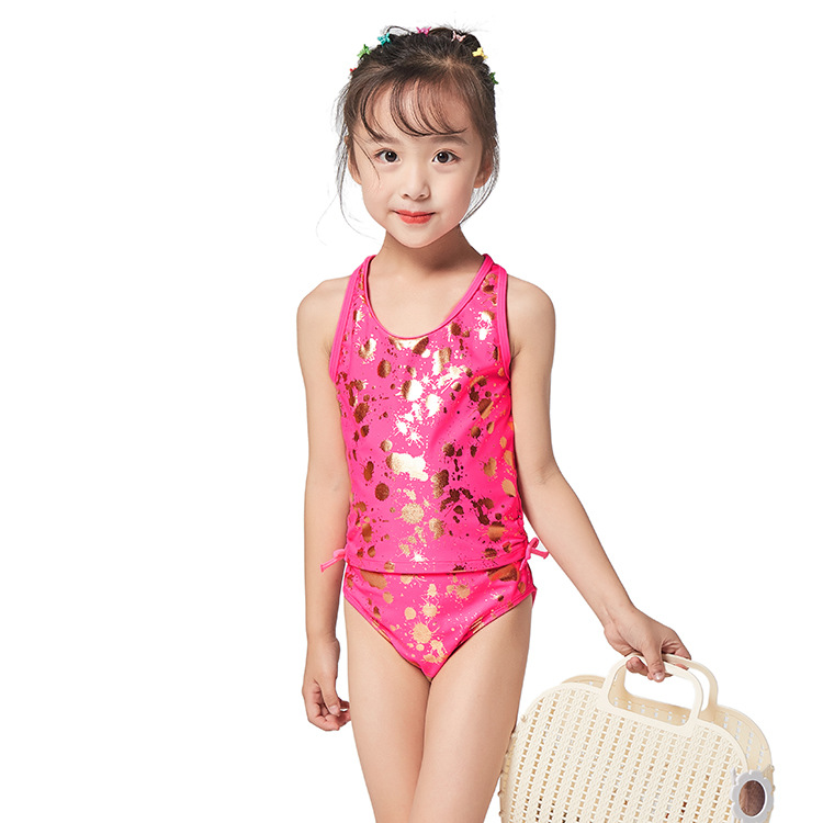 2019 New Style CHILDREN'S Swimsuit Girls Baby Two-piece Swimsuits Cute Princess GIRL'S Swimsuit Swimwear