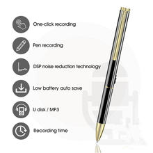 Vandlion dyktafon cyfrowy długopis 8GB 16GB rejestrator audio odtwarzacz MP3 bezstratna redukcja szumów dźwięk radia dyktafon V6