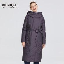 um colar um casaco
