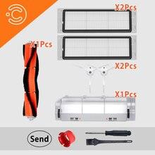 غطاء فرشاة الرئيسي قابل للغسل فلتر hepa اكسسوارات ل roborock S50 S51 S55 s6 جهاز آلي لتنظيف الأتربة استبدال أجزاء مجموعة