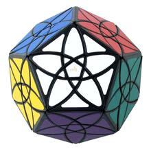 Original mf8 bauhinia dodecaedro cubo mágico quebra-cabeça velocidade cubo brinquedo torção profissional brinquedos educativos para o jogo do miúdo