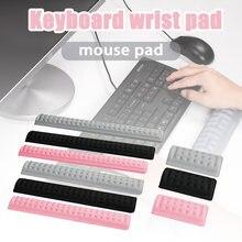 Tastiera meccanica di Resto di Polso di Gomma Piuma di Memoria di Rimbalzo Lento Supporto Per Polso Mouse Zerbino Da Polso Pad H-best
