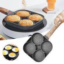 Кухонная сковорода антипригарная с четырьмя отверстиями для