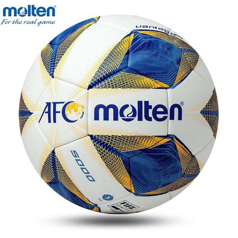 Image 4 - 2020 Original Molten Soccer Ball Official Size 4 Size 5 Football Ball Team Sports Training Football League Balls futbol bolaSoccers   -