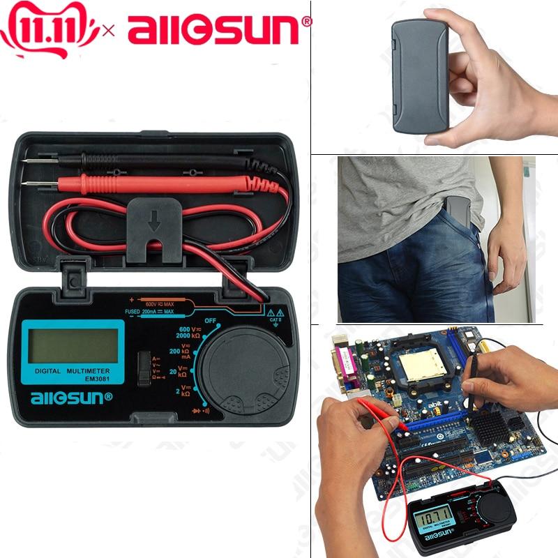 ALL SUN all sun EM3081 EM3082 Digital Multimeter 3 1 2 1999 AC DC Ammeter Voltmeter Innrech Market.com