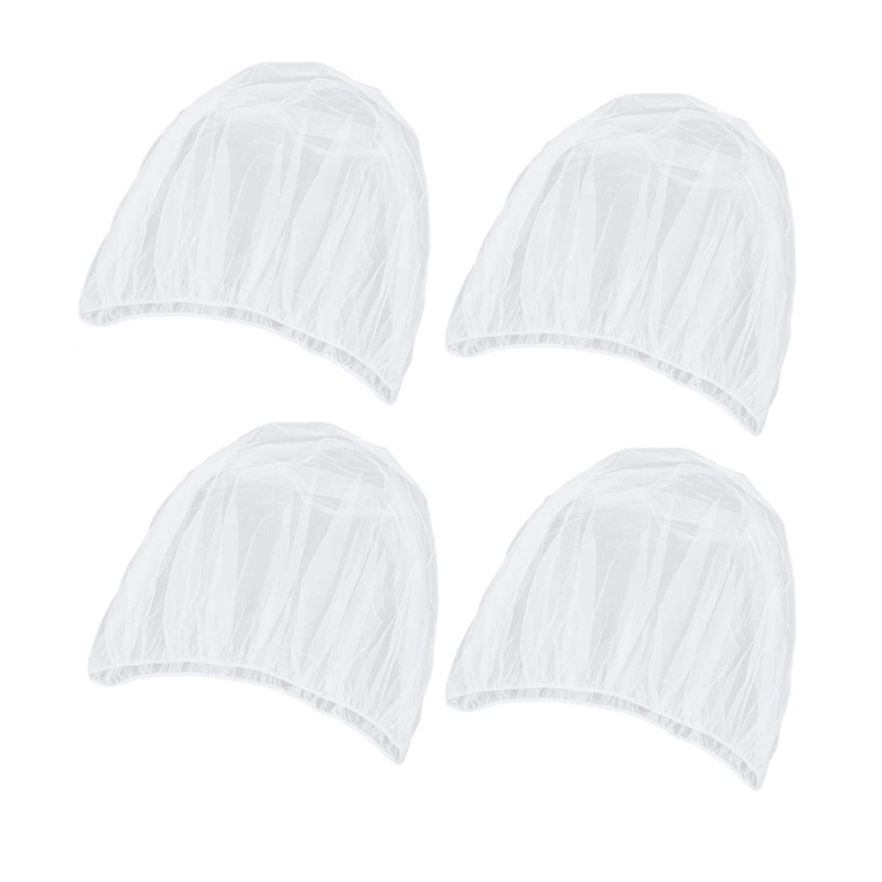 4 Pcs Baby Mosquito Nets Fit For Strollers Carriers Ultra Fine Mesh Protection Against Mosquitos Bees Flying Insects